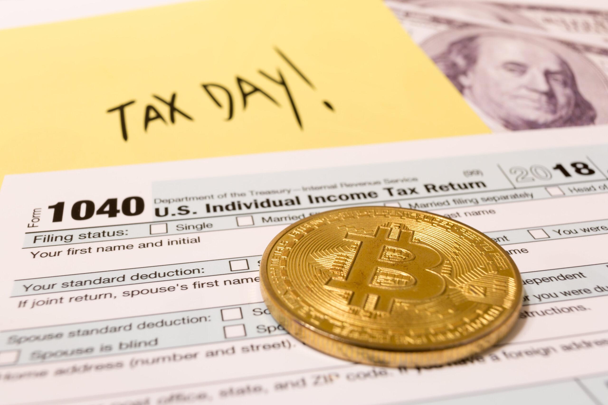 la perdita di raccolta fiscale bitcoin